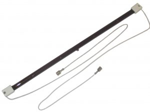 1.5kW Ruby 'slim' short wave emitter (Extra-long Leads)