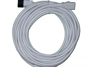 10m Extension Lead for Parasol Heater up to 2kW WHITE
