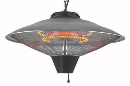 2.1kW Hanging Carbon Fibre Infra-red Pendant Heater