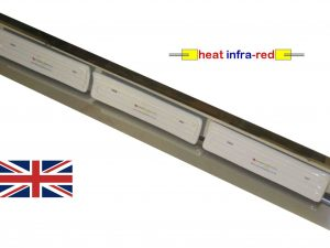 3kW Long-wave Ceramic Infra-red Process Heater