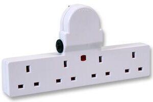Four Way Socket Adapter