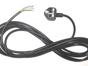13A Lead and plug 3m