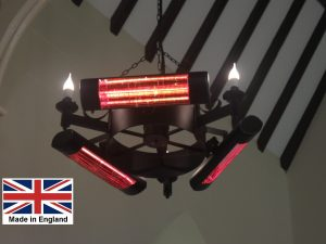 Chandelier Heater 6kW 'Amcotts' Design