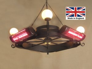 Chandelier Heater 6kW 'Willoughby' Design