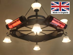 Chandelier Heater 8.0kW 'Gaddesby' Design