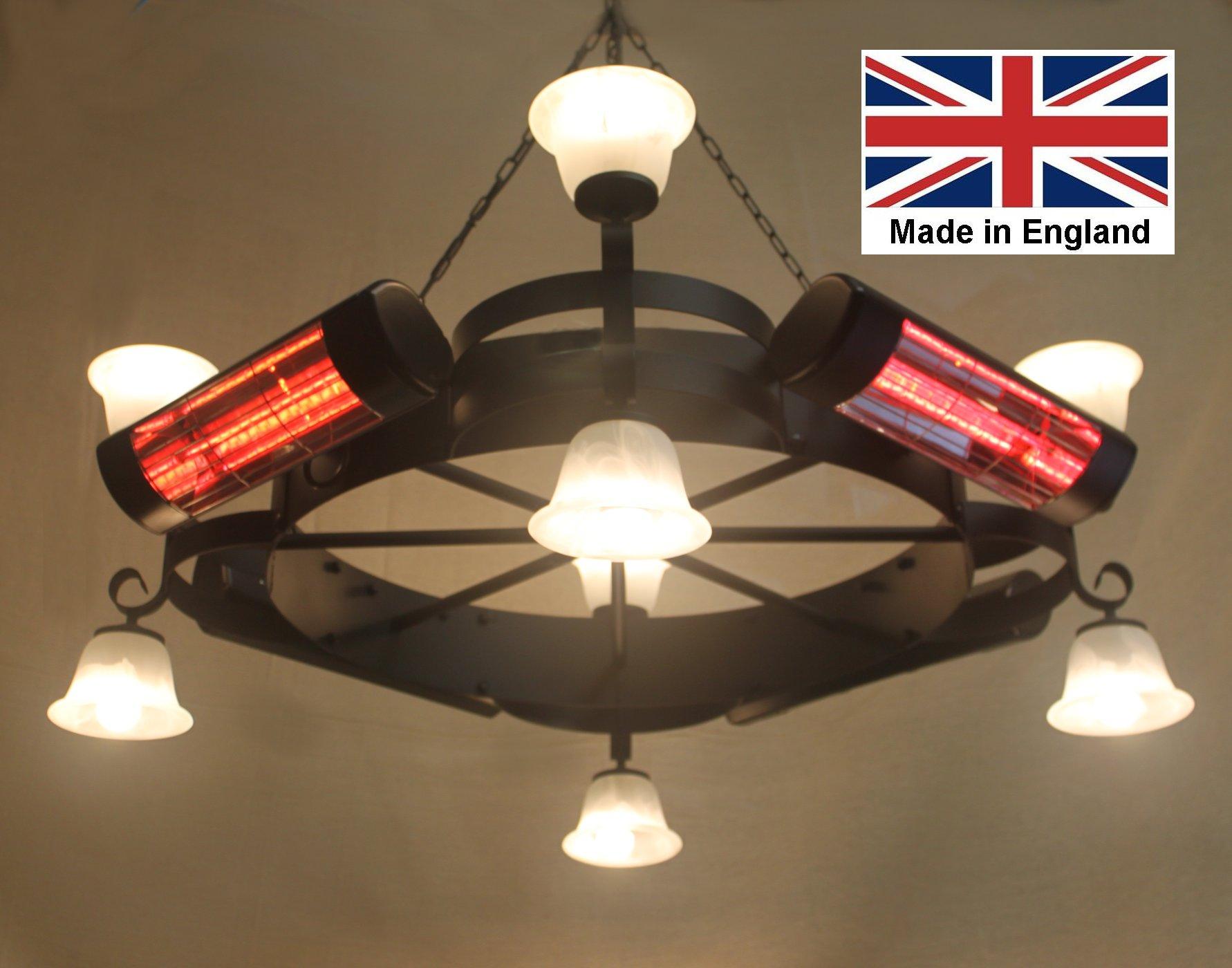 Chandelier Heater 8.0kW 'Gaddesby' Design