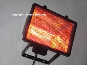 1000w Rainproof Infra-red Heater (BLACK)