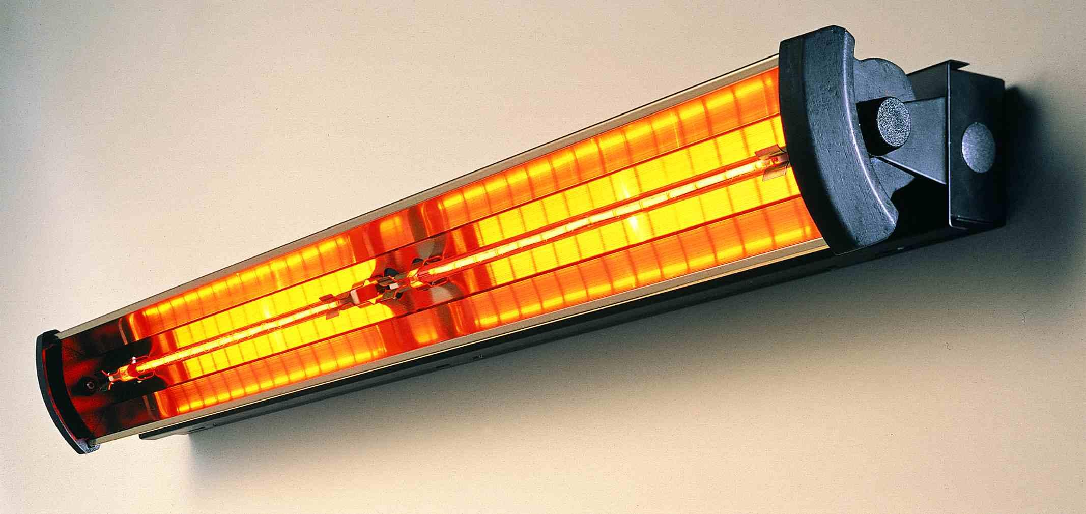3kW Linquartz Optik '2' Infra-red Heater WHITE