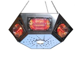 Pendant Gazebo Heaters As Seen on Alan Titchmarsh 'Love Your Garden'
