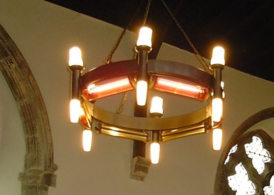 Church Chandelier Heater spares
