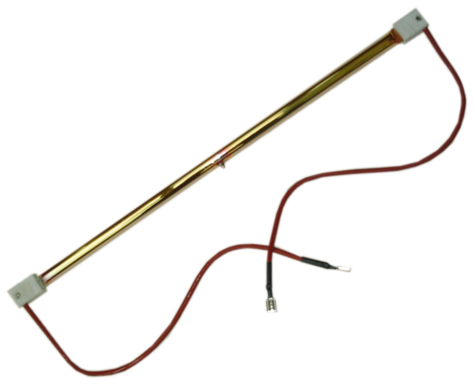 2kW Gold short-wave emitter - spade terminals