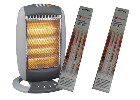 Oscillating Halogen Heater Lamps