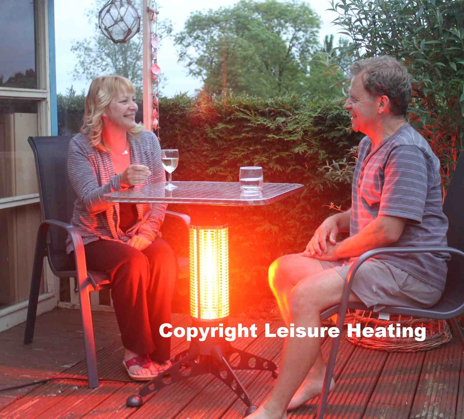 Infra-red Heated Table