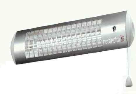 1800W Radiant Bathroom Heater