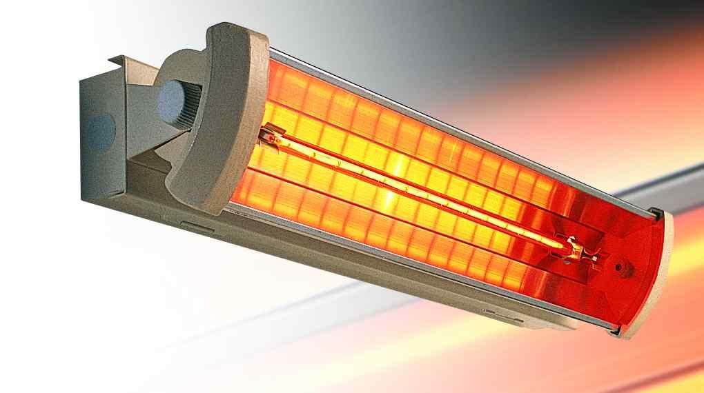 1.5kW Linquartz Optik 1 Infra-red Heater BLACK