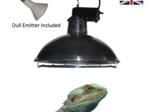 Vivarium Heater with 250W Dull Emitter and 2 Heat Settings