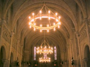 Large Chandelier Heaters for Churches and Cathedrals