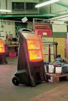 Birchwood Rhino TQ3 Infra Red Heater 2.8kW 240v