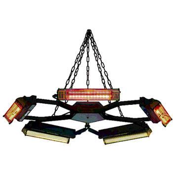 Pentagono Heater for Churches
