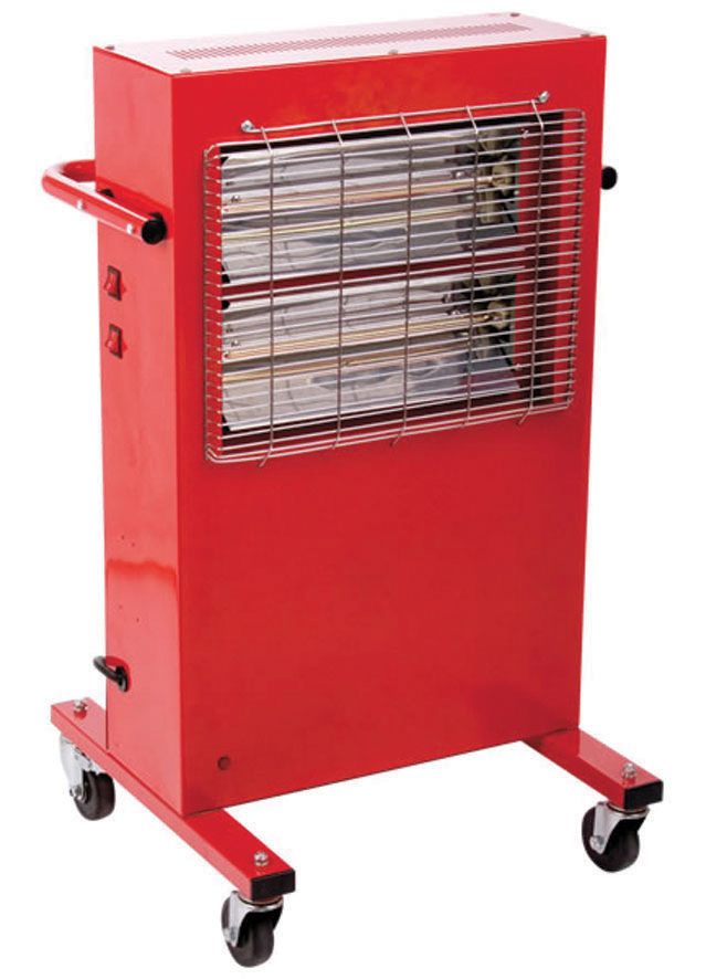 3Kw BIG RAD Commercial Halogen Heater 240V