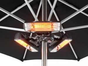 2.4kW Parasol Heater - Slimline Super - Heatmaster U2BS-R24