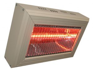 2 x HLQ20 2.0kW Quartz Commercial Heater