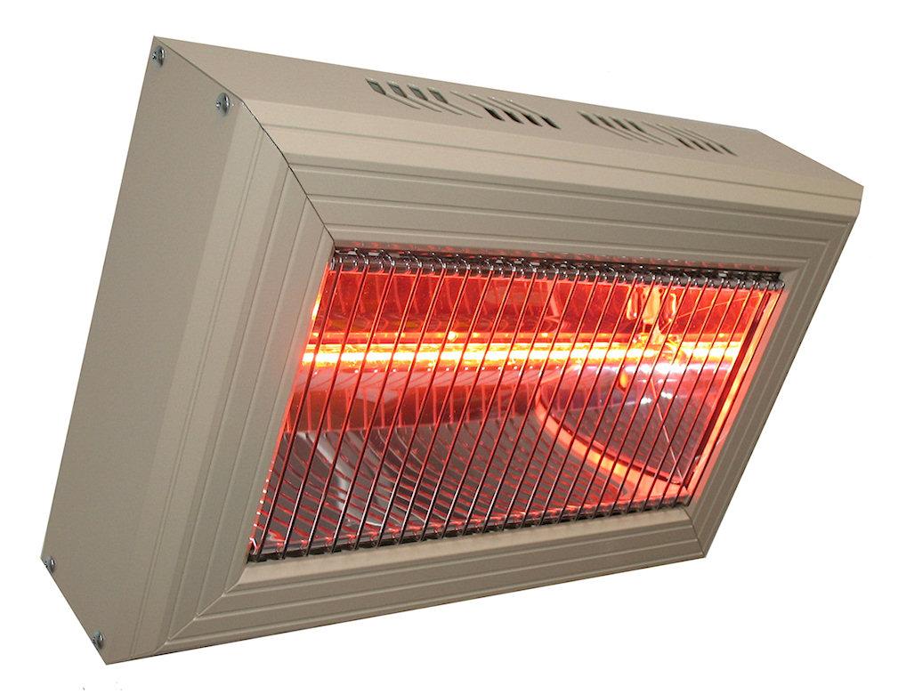 2 x HLQ20 2.0kW Quartz Commercial Heater