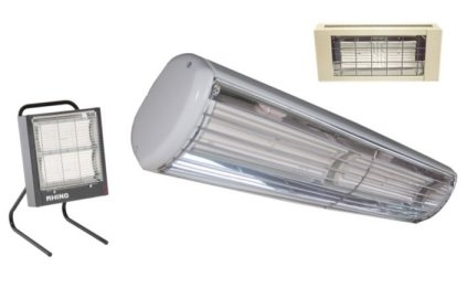 No-glow and Zero-light Infra-red Heaters